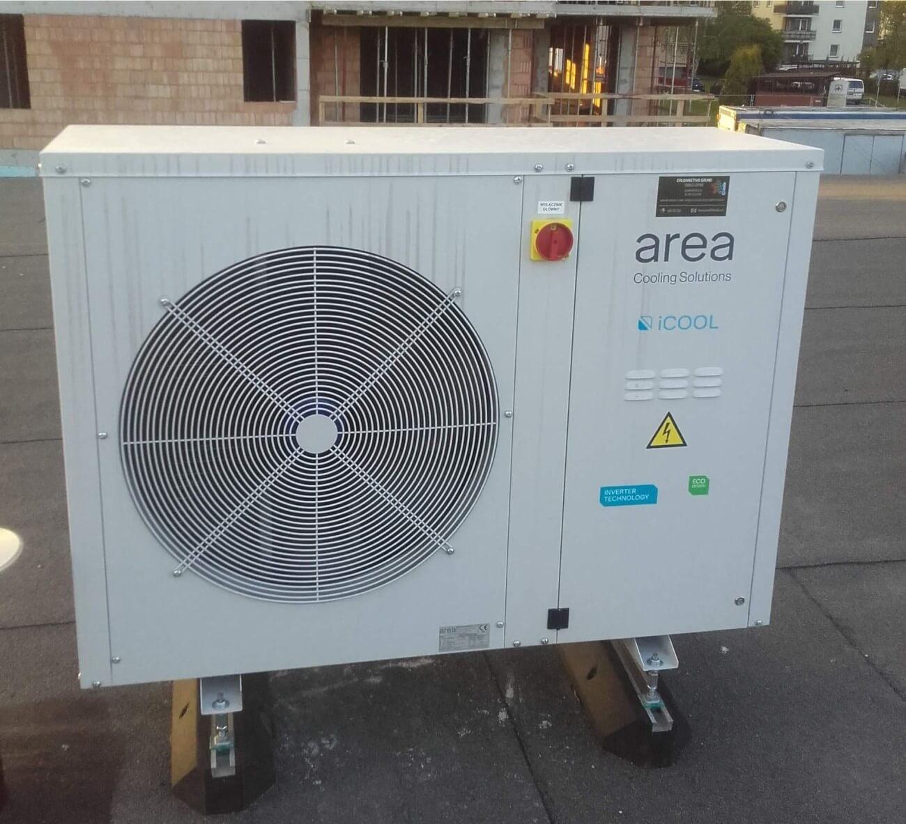 zewnętrzna jednostka klimatyzacji