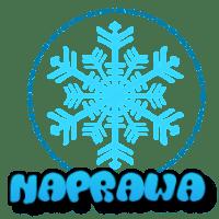 płatek śniegu z napisem naprawa