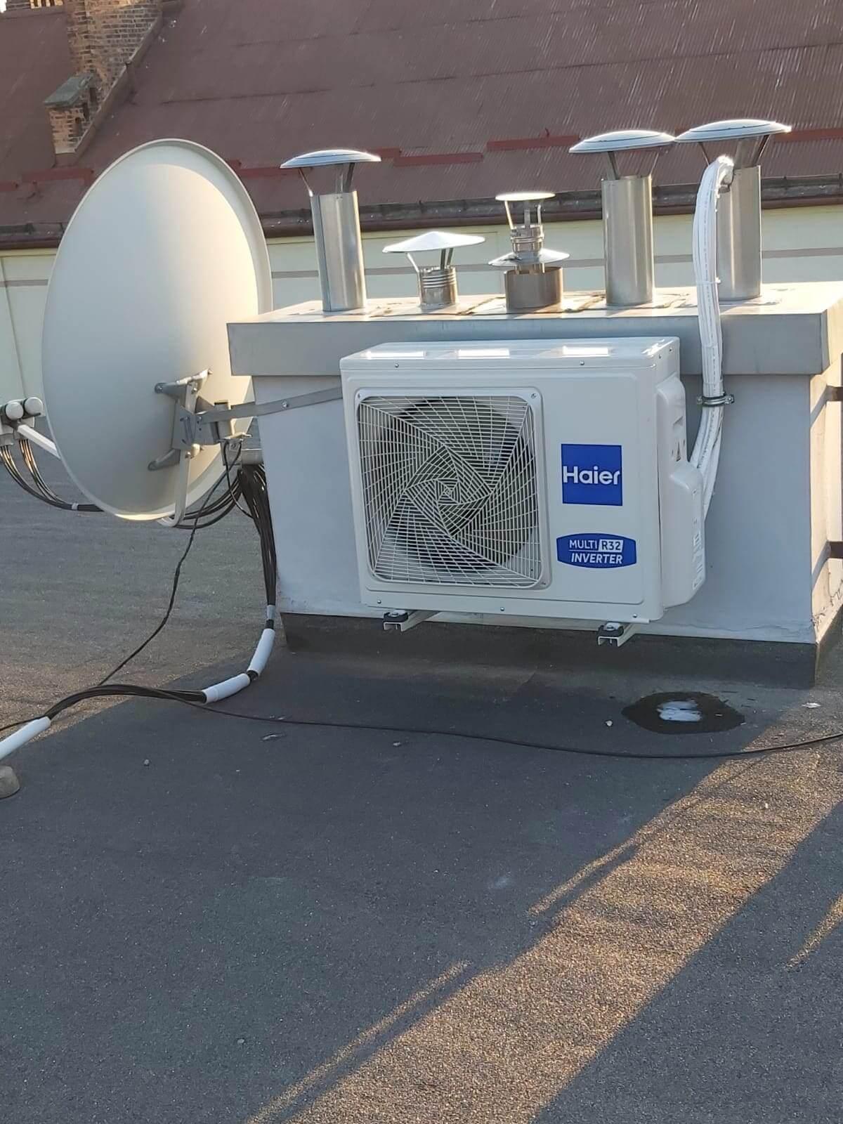 System klimatyzacji - dach