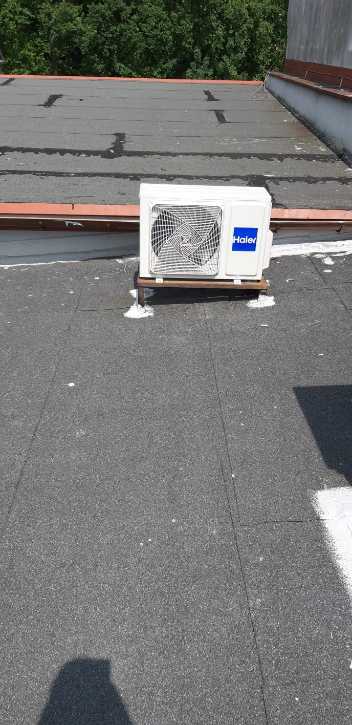 Haier - system klimatyzacji na dachu