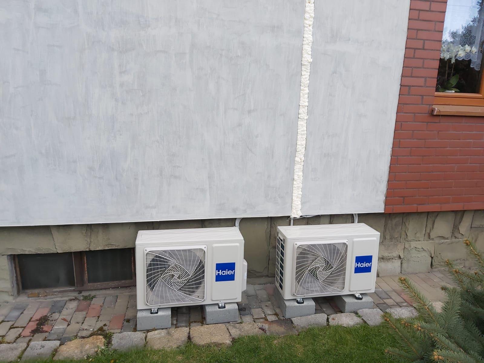 Podwójna klimatyzacja zewnętrzna