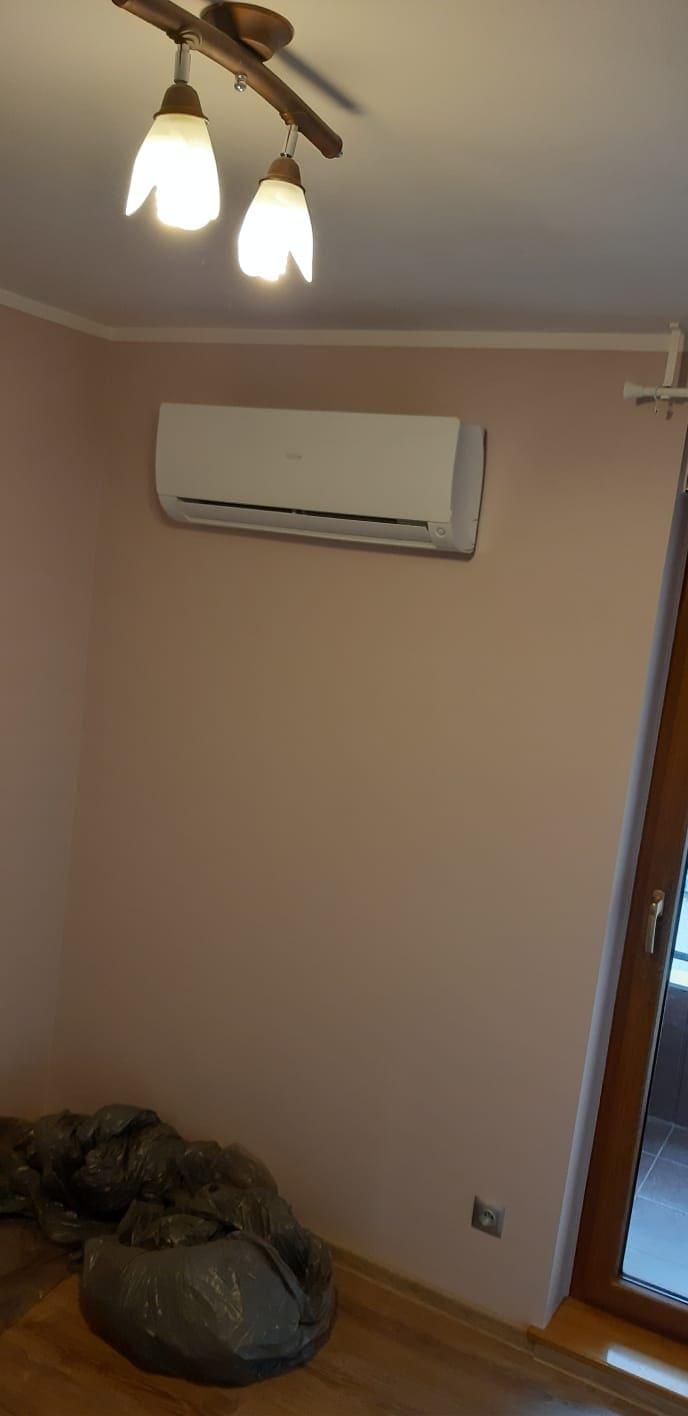 Klimatyzacja zamontowana