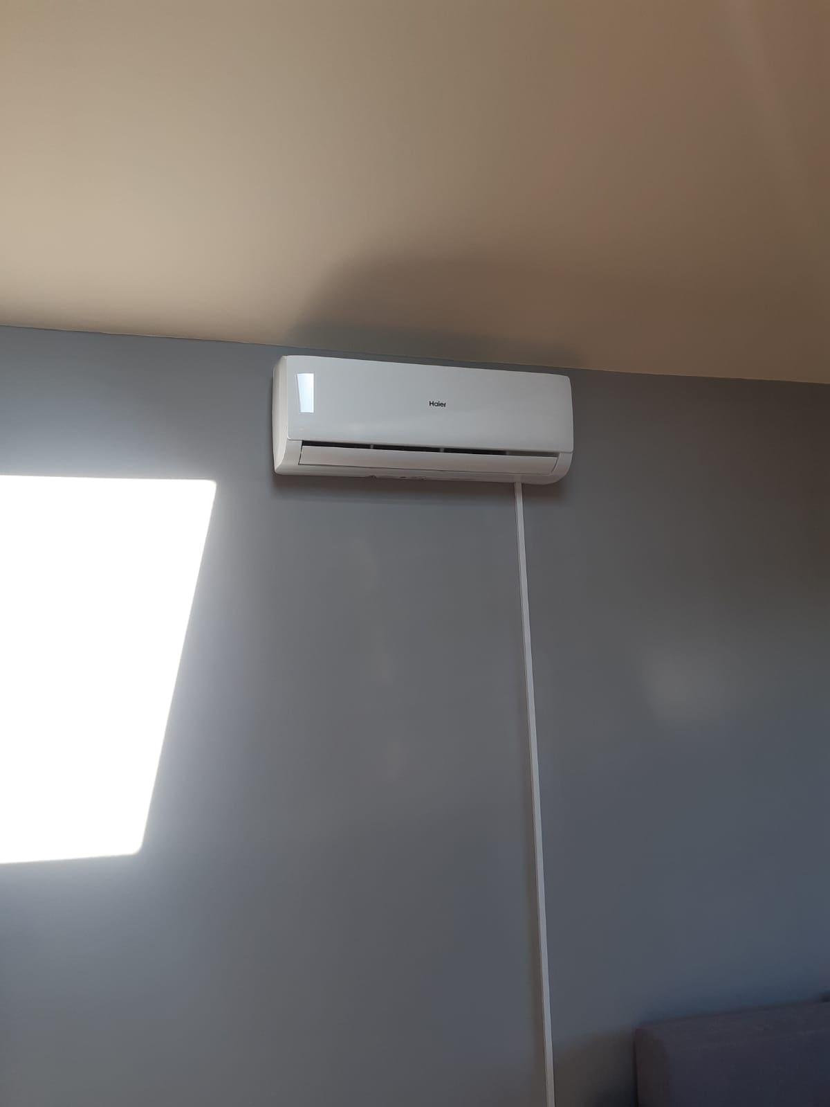 Zamontowana klimatyzacja domowa